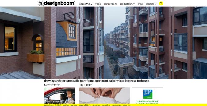 design-boom-website-screenshot-675x348 Best 50 Home Decor Websites to Follow in 2020
