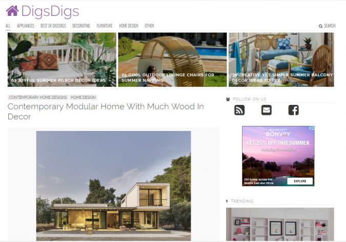 digs-digs-website-screenshot-675x473 Best 50 Home Decor Websites to Follow in 2020