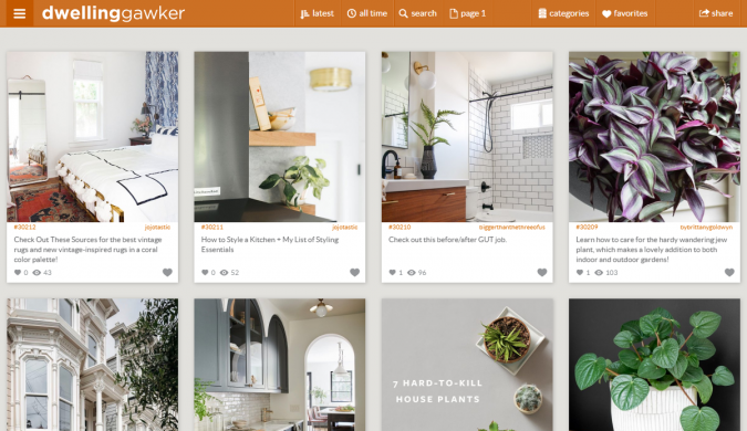 dwelling-gawker-website-screenshot-675x390 Best 50 Home Decor Websites to Follow in 2020