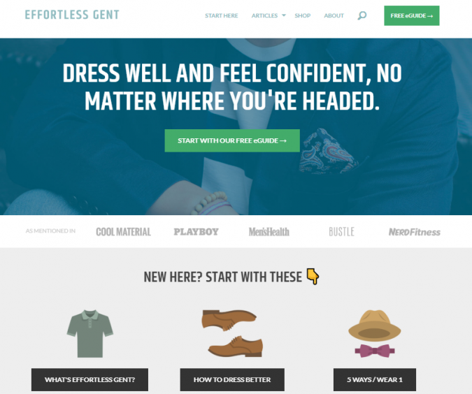 effortless-gent-fashion-style-website-675x564 Top 60 Trendy Men Fashion Websites to Follow in 2020