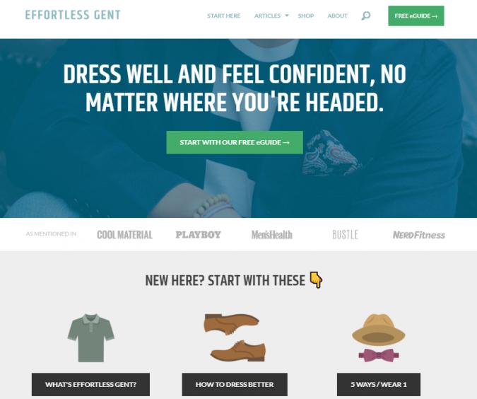 effortless-gent-fashion-style-website-675x564 Top 60 Trendy Men Fashion Websites to Follow in 2020