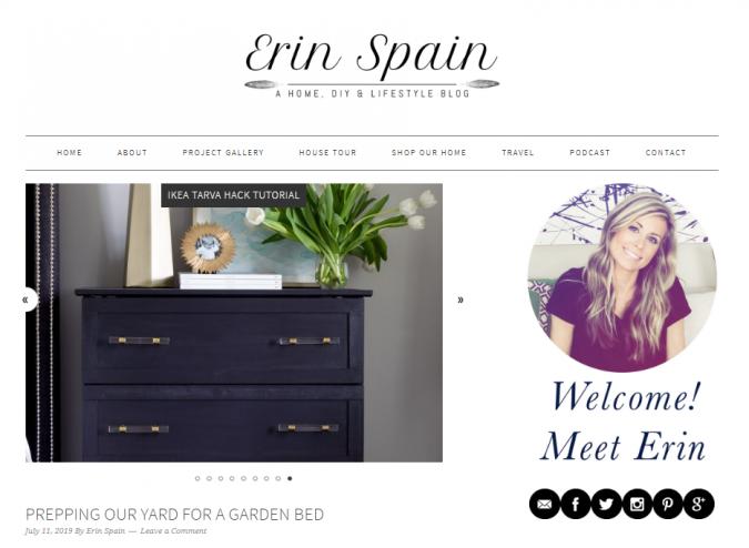 erin-spain-website-screenshot-675x494 Best 50 Home Decor Websites to Follow in 2020