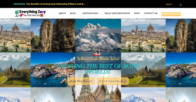 everything-zany-travel-website-675x350 Best 60 Travel Website Services to Follow in 2020
