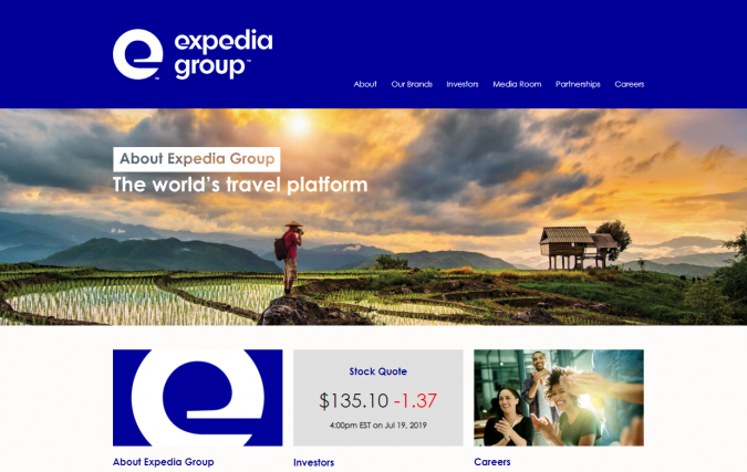 expedia-group-travel-website-675x427 Best 60 Travel Website Services to Follow in 2020