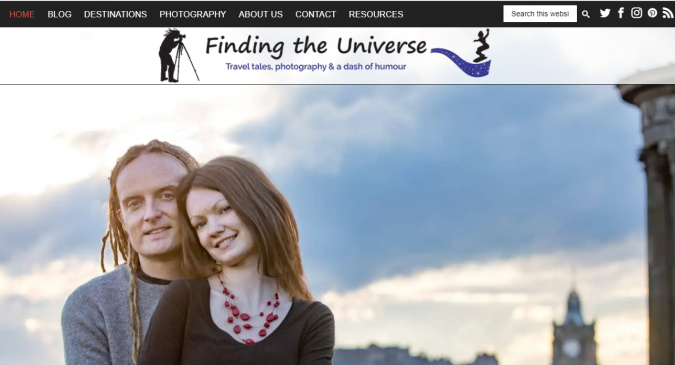finding-the-universe-travel-website-675x365 Best 60 Travel Website Services to Follow in 2020
