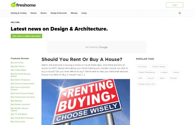 freshome-website-screenshot-675x437 Best 50 Home Decor Websites to Follow in 2020