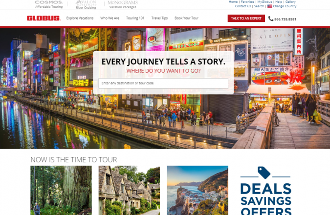 globus-travel-website-675x441 Best 60 Travel Website Services to Follow in 2019