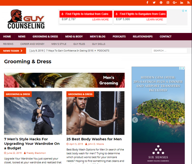 guy-counseling-style-website-675x577 Top 60 Trendy Men Fashion Websites to Follow in 2020