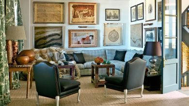 living-room-390x220 11 Tips on Mixing Antique and Modern Décor Styles