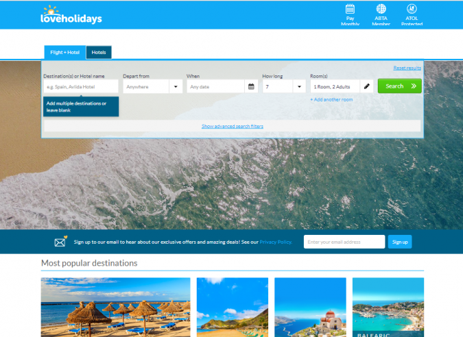 love-holidays-travel-website-675x492 Best 60 Travel Website Services to Follow in 2020