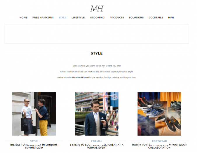 man-for-himself-style-website-675x525 Top 60 Trendy Men Fashion Websites to Follow in 2020
