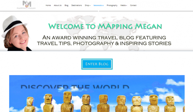 mapping-megan-travel-website-675x392 Best 60 Travel Website Services to Follow in 2019