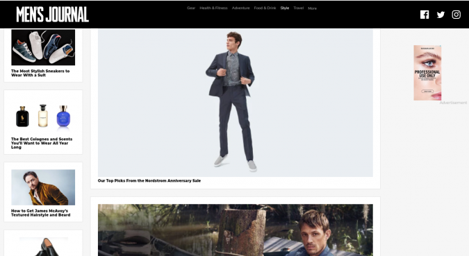 mens-journal-style-website-675x369 Top 60 Trendy Men Fashion Websites to Follow in 2019