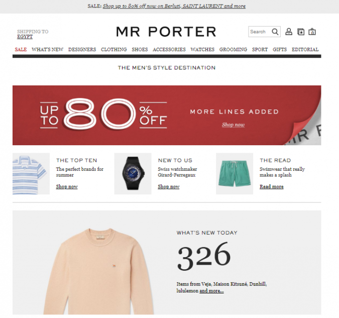 mr-porter-style-website-675x633 Top 60 Trendy Men Fashion Websites to Follow in 2020