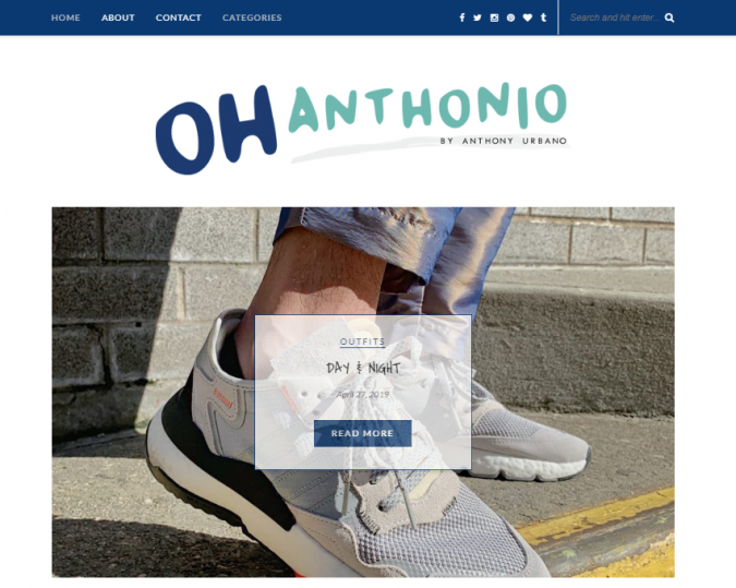 oh-anthonio-style-website-675x539 Top 60 Trendy Men Fashion Websites to Follow in 2019