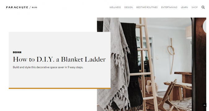 parachute-website-screenshot-675x361 Best 50 Home Decor Websites to Follow in 2019