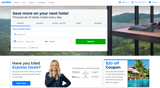priceline-travel-website-675x375 Best 60 Travel Website Services to Follow in 2020