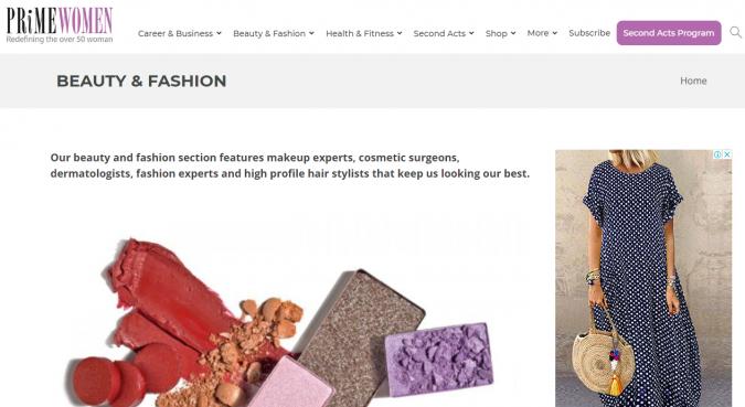 prime-women-website-screenshot-675x369 Top 60 Trendy Women Fashion Blogs to Follow in 2019