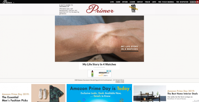 primer-style-website-675x349 Top 60 Trendy Men Fashion Websites to Follow in 2019