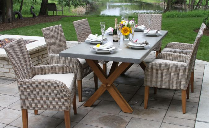 rattan-furniture-675x415 How to Create a Wonderful Patio Area for Summer Entertaining and Relaxation