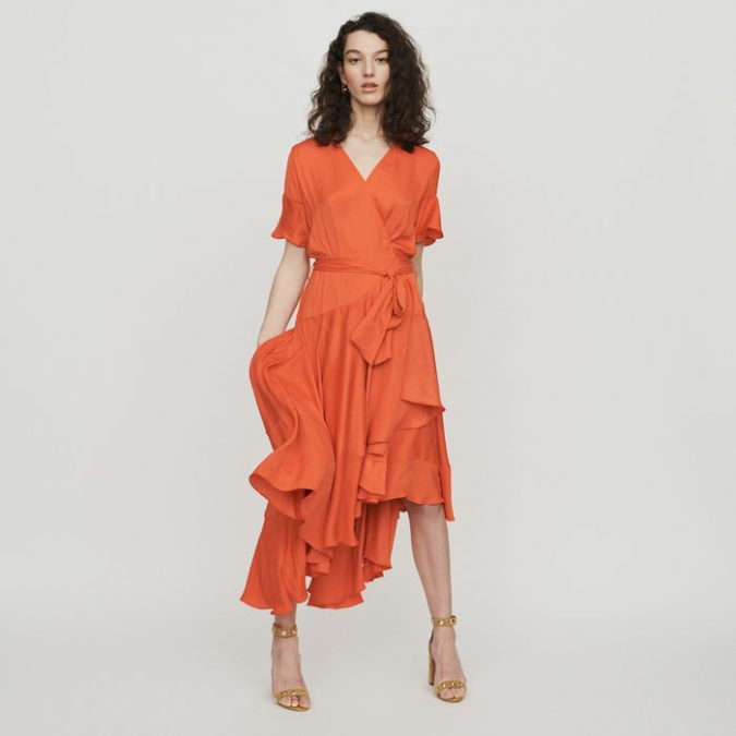 ruffled-dress-675x675 10 Wardrobe Essentials Inspired by Summer 2020 Fashion Trends