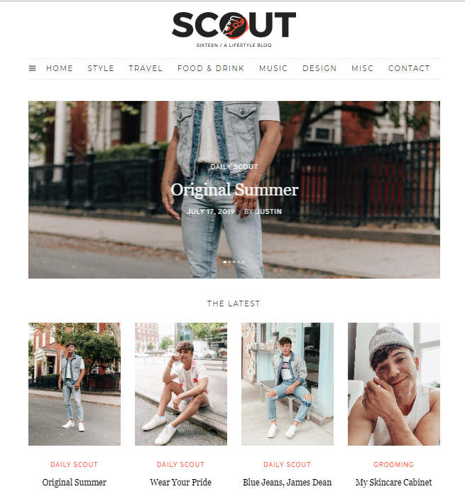scout-sixteen-style-blog Top 60 Trendy Men Fashion Websites to Follow in 2020