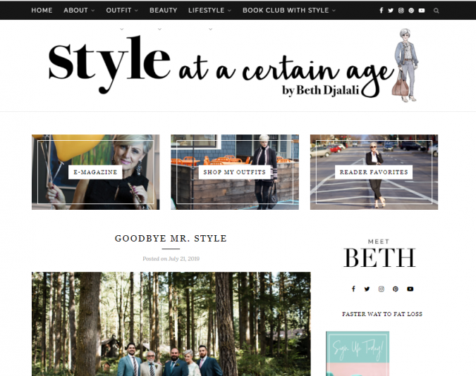 style-at-a-certain-age-website-screenshot-675x534 Top 60 Trendy Women Fashion Blogs to Follow in 2019