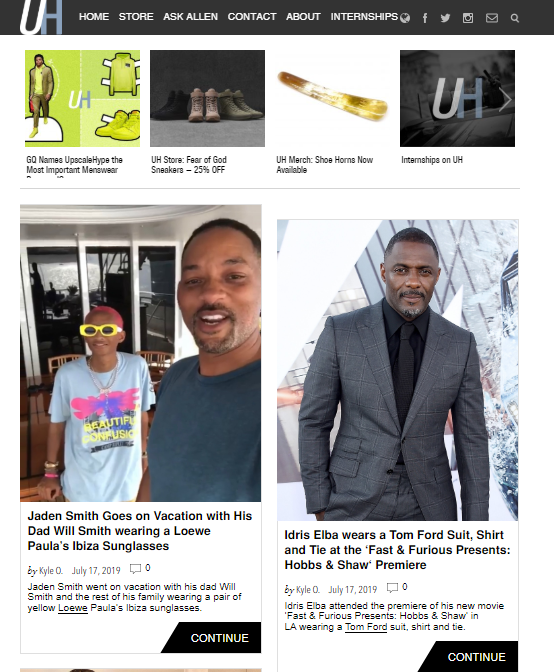 style-website Top 60 Trendy Men Fashion Websites to Follow in 2020