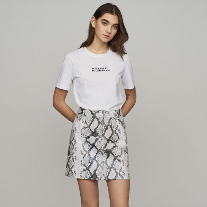 summer-outfit-animal-printed-skirt-675x675 10 Wardrobe Essentials Inspired by Summer 2019 Fashion Trends