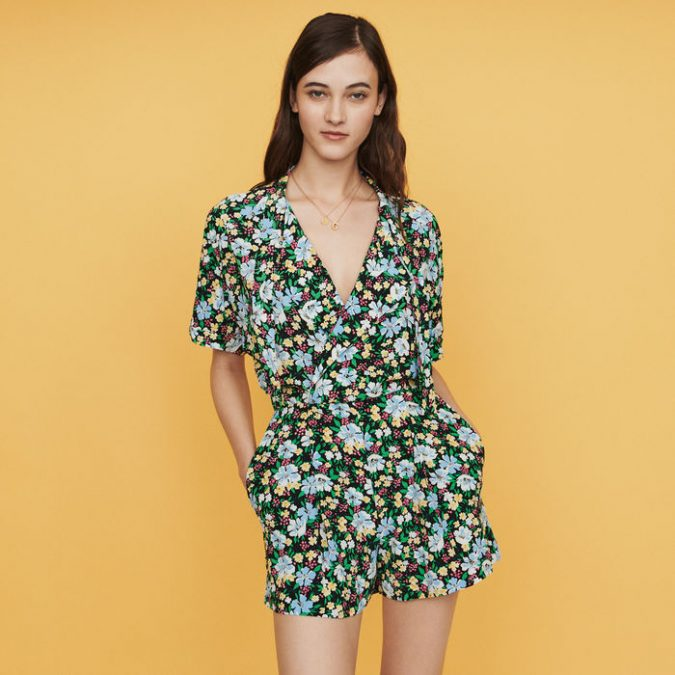 summer-outfit-floral-playsuit-675x675 10 Wardrobe Essentials Inspired by Summer 2019 Fashion Trends