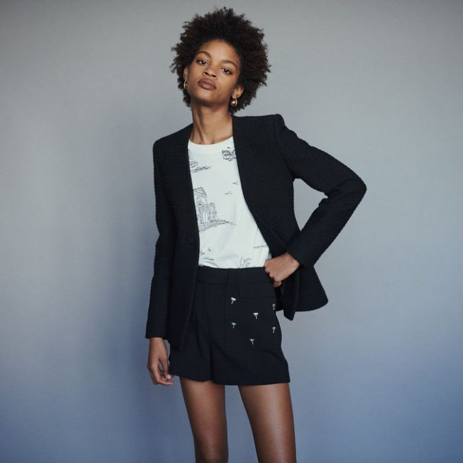 summer-outfit-shorts-and-blazer-675x675 10 Wardrobe Essentials Inspired by Summer 2020 Fashion Trends