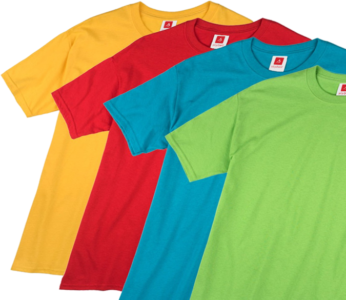 t-shirts-675x585 7 Main Steps to Start Embroidered Shirts Business