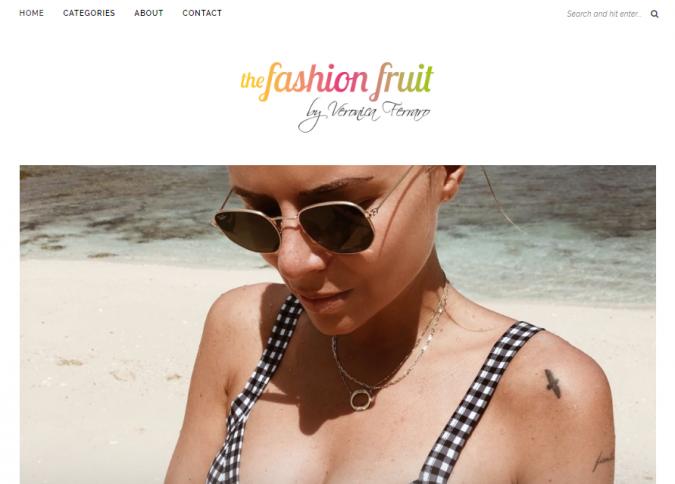 the-fashion-fruit-website-screenshot-675x484 Top 60 Trendy Women Fashion Blogs to Follow in 2019