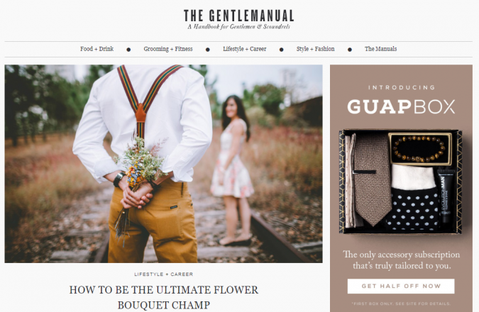 the-gentle-manual-style-website-675x440 Top 60 Trendy Men Fashion Websites to Follow in 2020
