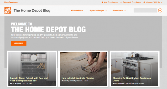 the-home-depot-blog-website-screenshot-675x363 Best 50 Home Decor Websites to Follow in 2019
