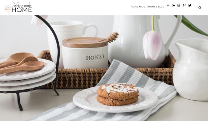 the-honeycomb-home-website-screenshot-675x392 Best 50 Home Decor Websites to Follow in 2020
