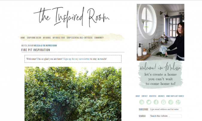 the-inspired-room-website-screenshot-675x407 Best 50 Home Decor Websites to Follow in 2020