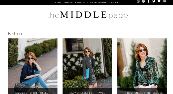 the-middle-page-website-screenshot-675x369 Top 60 Trendy Women Fashion Blogs to Follow in 2019