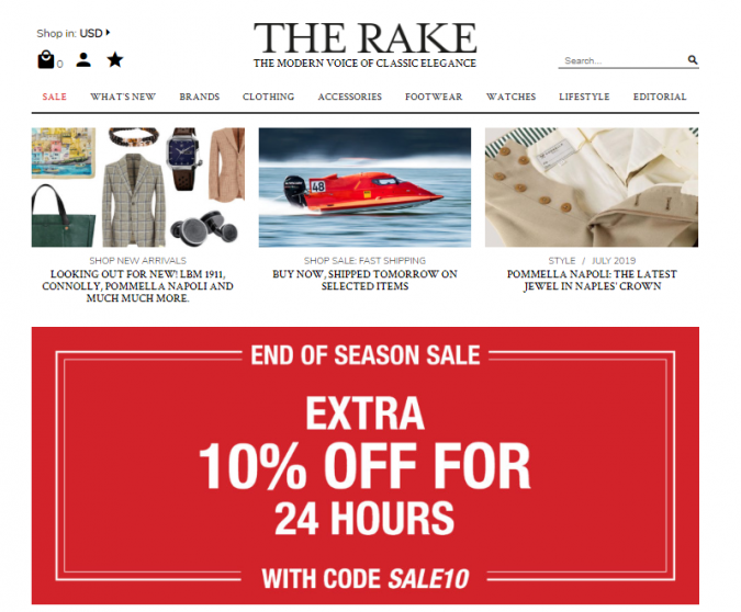 the-rake-style-website-675x558 Top 60 Trendy Men Fashion Websites to Follow in 2020