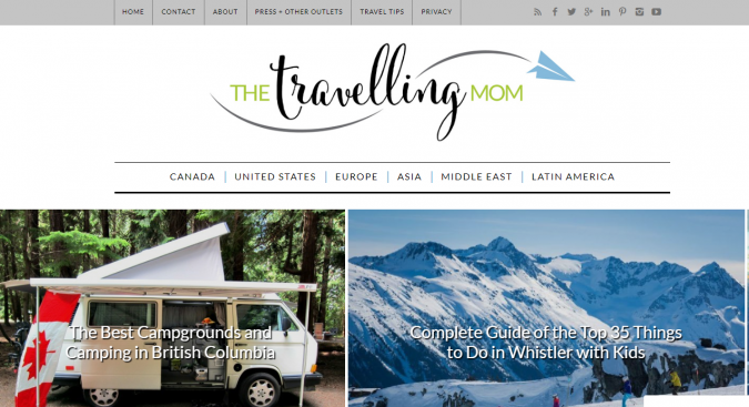 the-traveling-mom-travel-website-675x367 Best 60 Travel Website Services to Follow in 2019