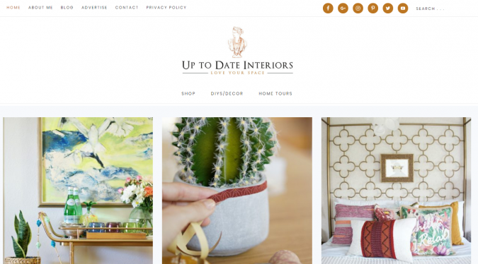 up-to-date-interior-website-screenshot-675x374 Best 50 Home Decor Websites to Follow in 2019