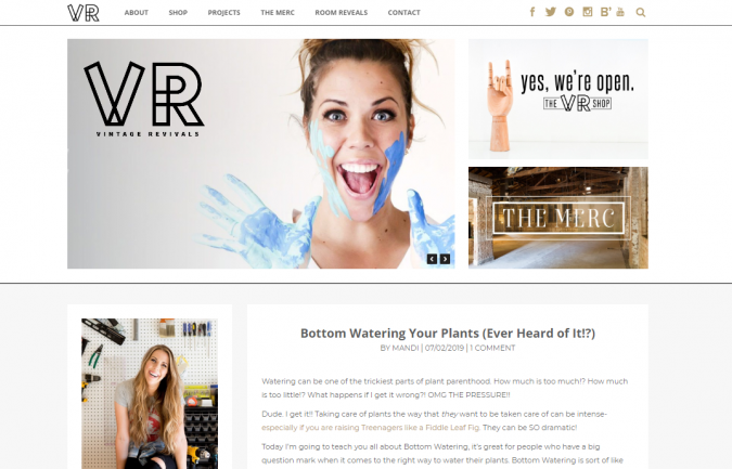 vintage-revival-website-screenshot-675x433 Best 50 Home Decor Websites to Follow in 2019