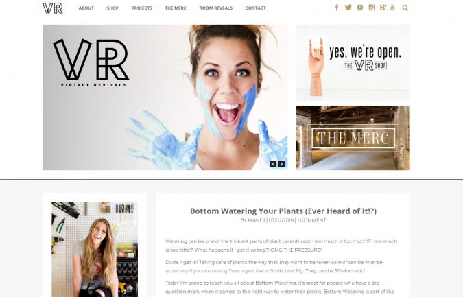 vintage-revival-website-screenshot-675x433 Best 50 Home Decor Websites to Follow in 2020