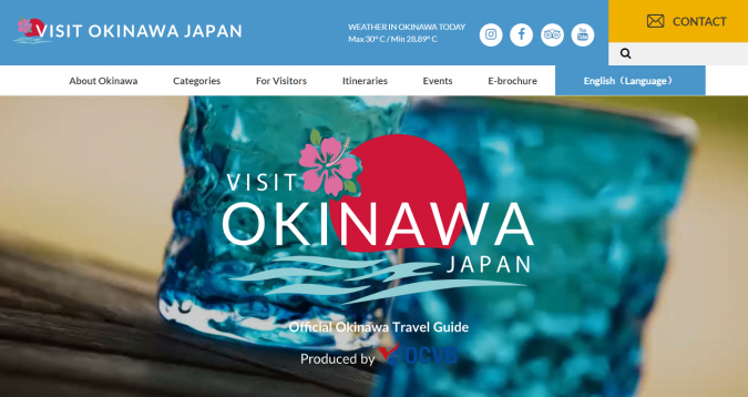 visit-okinawa-travel-website-675x358 Best 60 Travel Website Services to Follow in 2019
