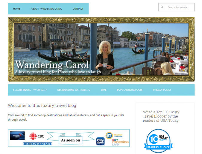 wandering-carol-travel-website-675x515 Best 60 Travel Website Services to Follow in 2019