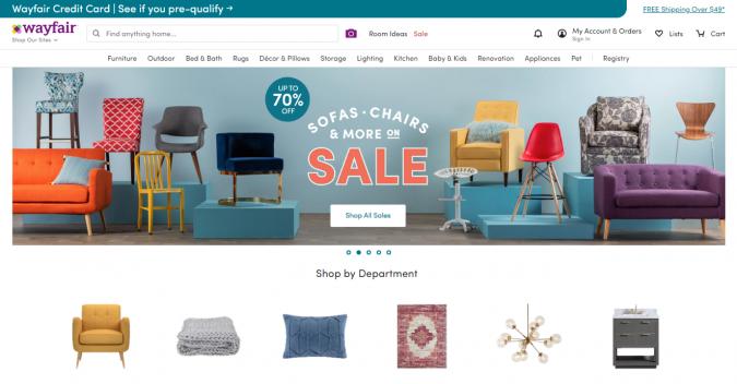 wayfair-website-screeshot-675x352 Best 50 Home Decor Websites to Follow in 2020