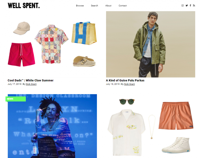 well-spent-style-website-675x535 Top 60 Trendy Men Fashion Websites to Follow in 2020