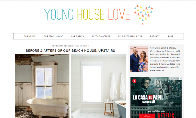 young-house-love-website-screenshot-675x407 Best 50 Home Decor Websites to Follow in 2019
