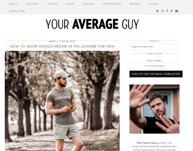 your-average-guy-style-website-675x529 Top 60 Trendy Men Fashion Websites to Follow in 2019