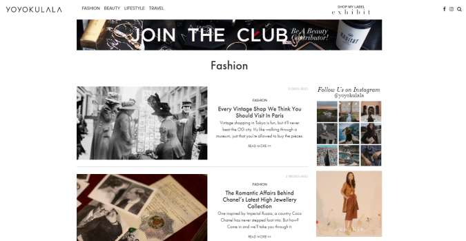 yoyokulala-blog-screenshot-675x349 Top 60 Trendy Women Fashion Blogs to Follow in 2019